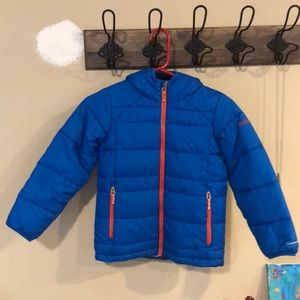 Columbia puffy jacket